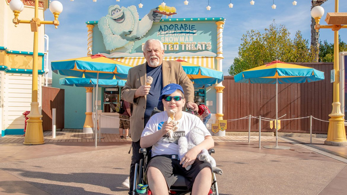 Dream Came True For Boy Who Wanted To Meet John Ratzenberger