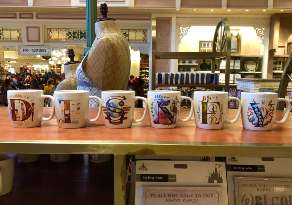 New ABC Disney Mugs Collection at Disney Parks