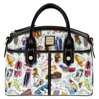 Disney Ink & Paint Satchel by Dooney & Bourke