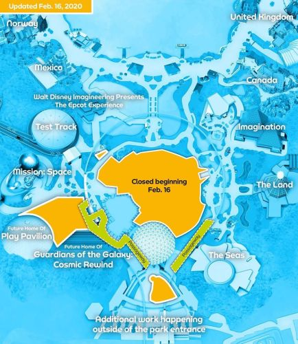 Areas of Future World in Epcot are closing this weekend 1