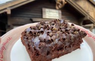 Found at Kringla Bakeri: Delicious and Gigantic Chocolate Caramel Brownie