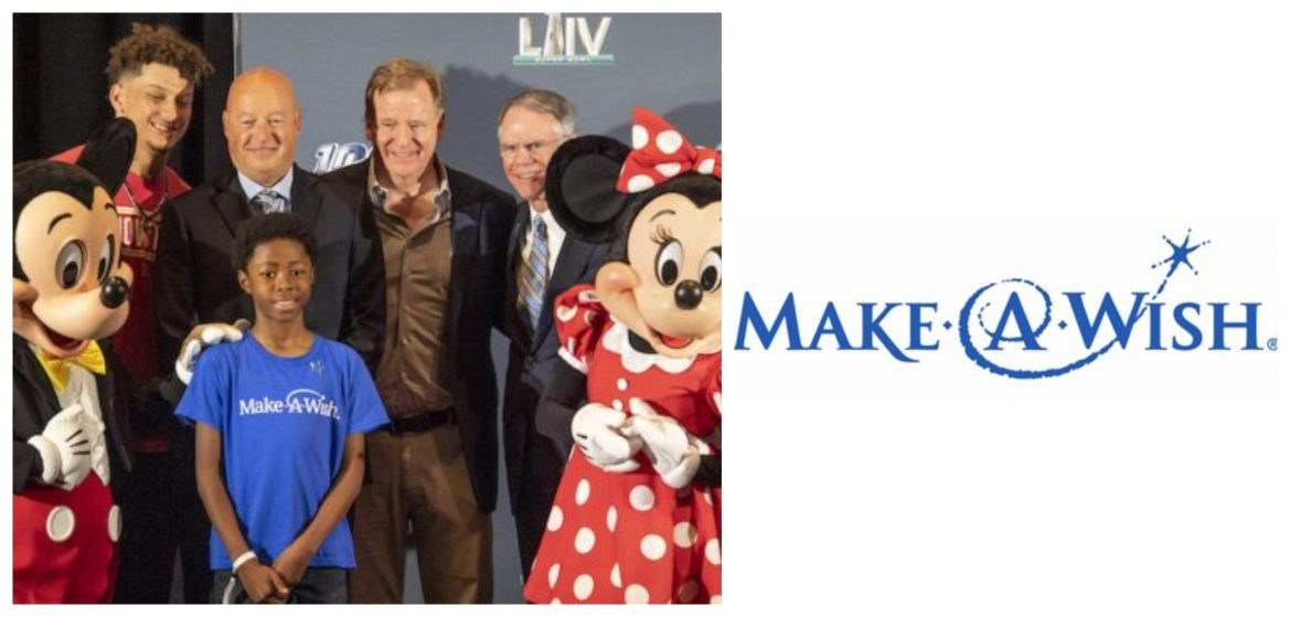 Disney to donate $1 Million dollars to Make-A-Wish in Honor of Super Bowl LIV MVP Patrick Mahomes