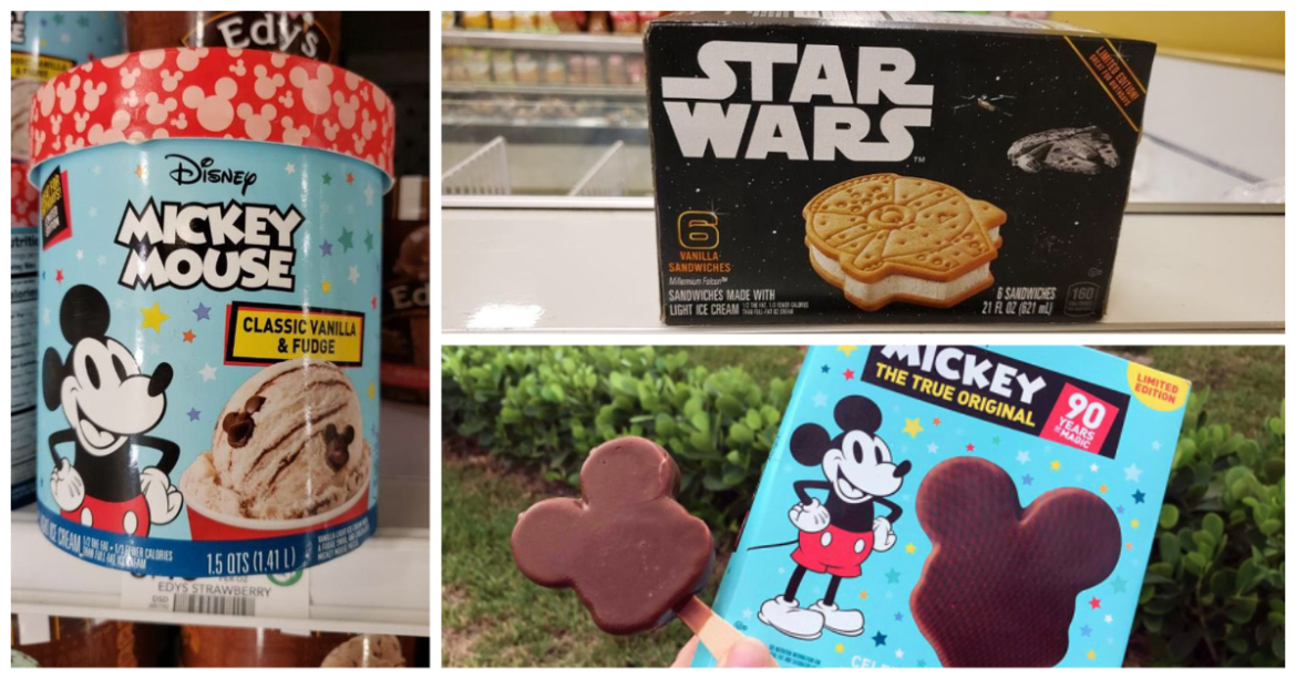 Disney Ice Cream Varieties That You Can Find At Your Local Grocer