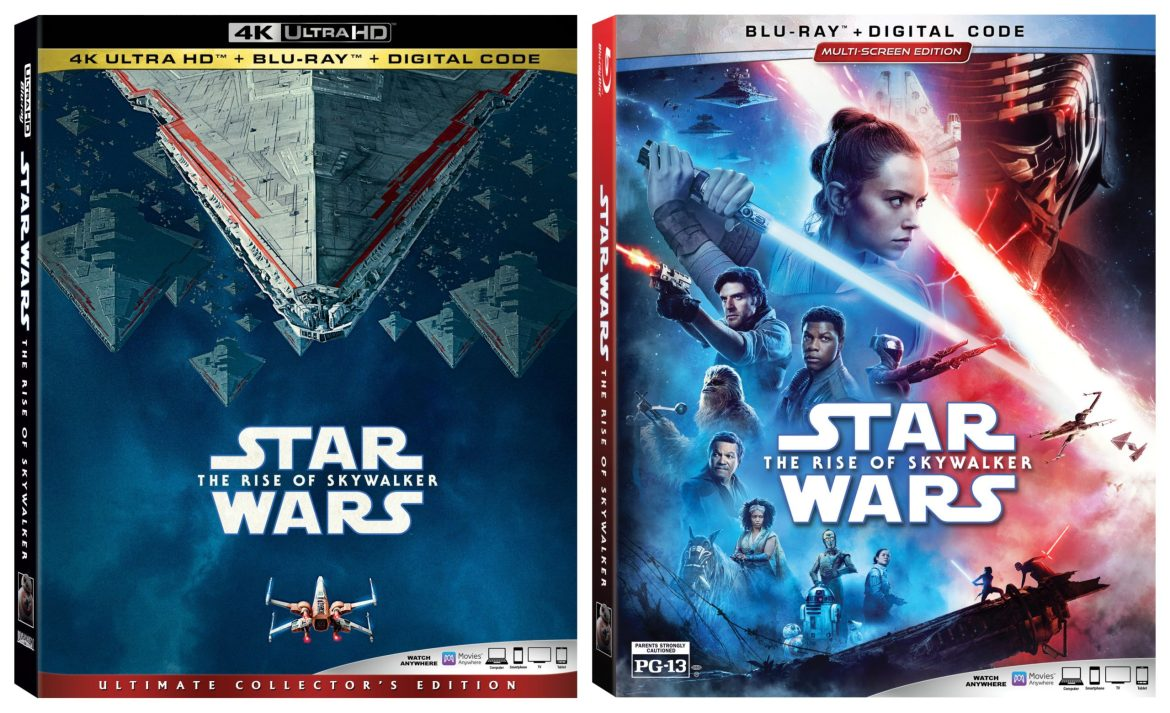 Star Wars: The Rise of Skywalker on Digital 3/17 and Blu-ray 3/31