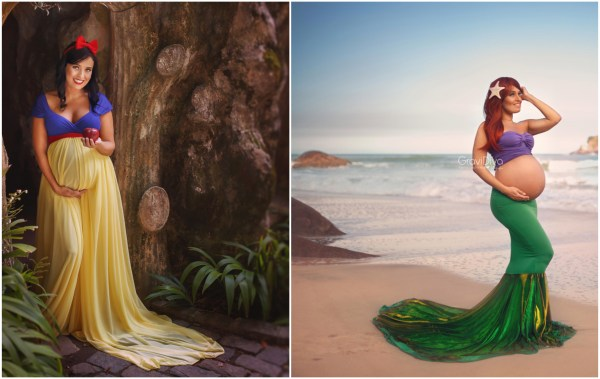 Magical Maternity Photo Shoots Turned These Expectant Moms Into Disney Princesses 5