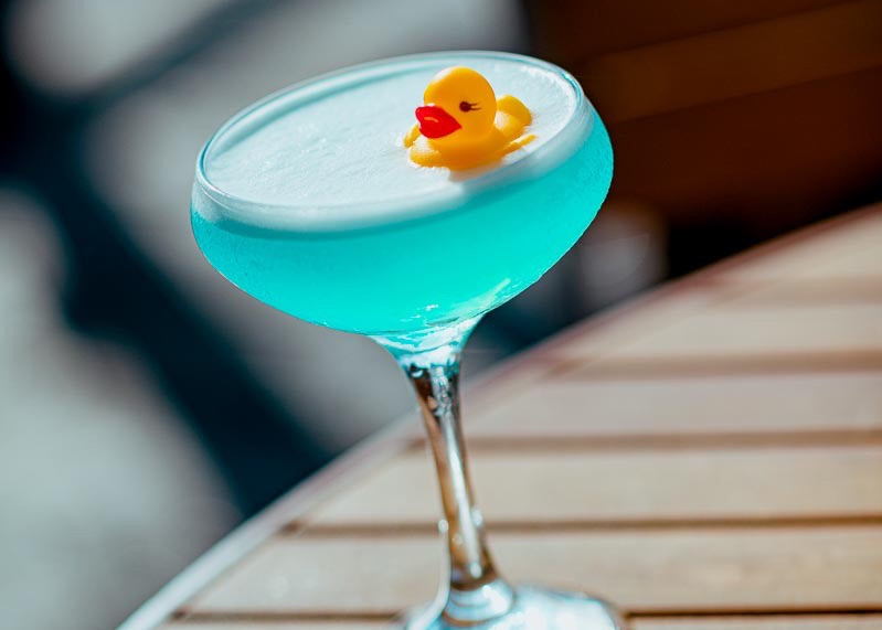 Cutest Rubber Duck Drink Now Available At Disney Springs!