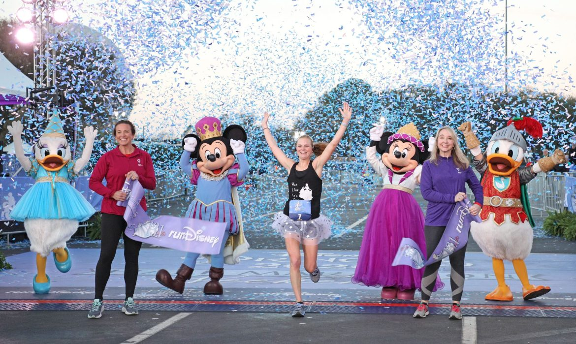 Georgia Runner Inspired by Young Son's Medical Situation During Disney Princess Half Marathon Win Sunday