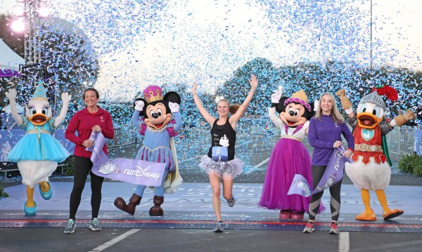 Georgia Runner Inspired by Young Son's Medical Situation During Disney Princess Half Marathon Win Sunday 1