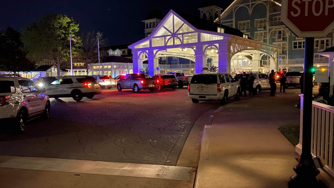 Reports of a suspicious person at Disney's Beach Club Resort