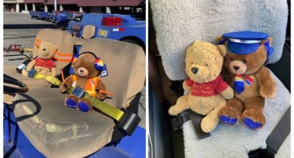 Southwest Airlines Helps Girl Reunite With Her Lost Pooh 1