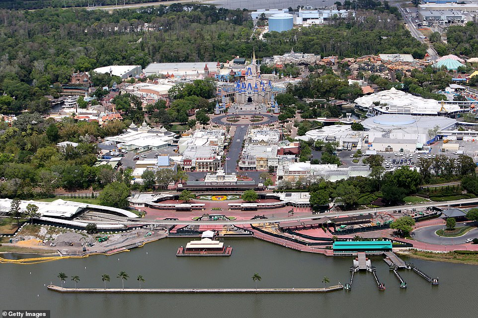Disney World is losing $40 million daily from being closed