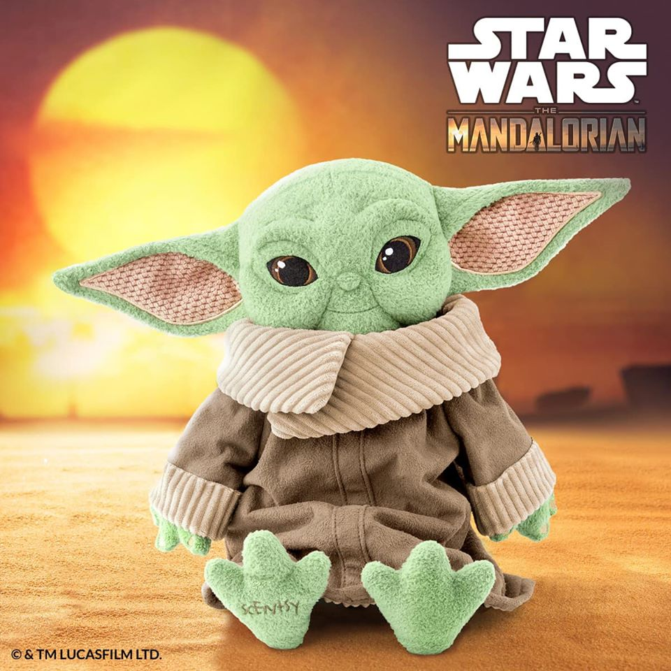 Baby Yoda Scentsy Buddy Arrives From A Galaxy Far, Far Away Soon