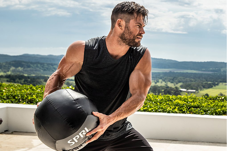 Chris Hemsworth Offers Free Fitness App for 6 Weeks To Help Folks Exercise At Home
