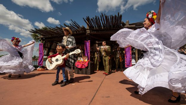 The Story Of Coco Returns To Epcot Flower & Garden Festival!