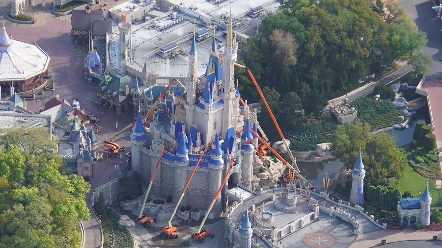 Disney shuts down all construction projects at Walt Disney World