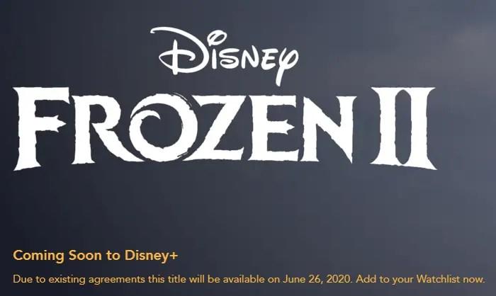 'Frozen II' Is Coming To Disney+ In Summer 2020