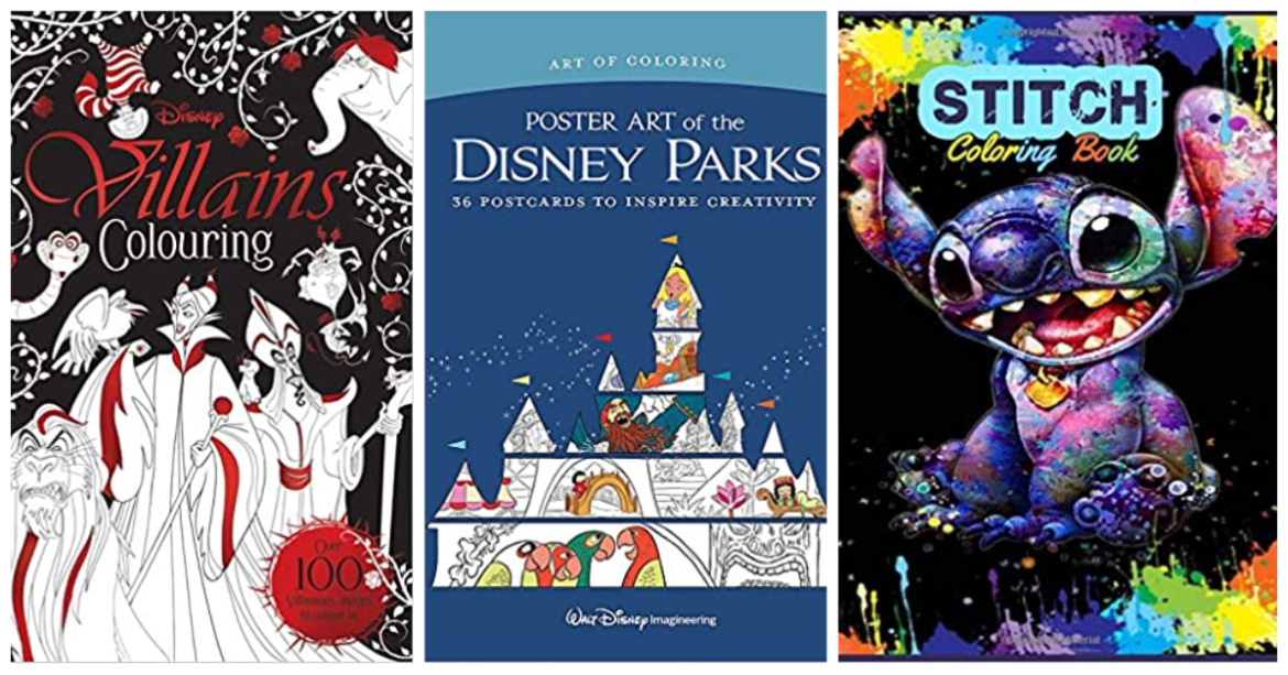 Our Favorite Disney Coloring Books For Grown Ups To Pass The Time