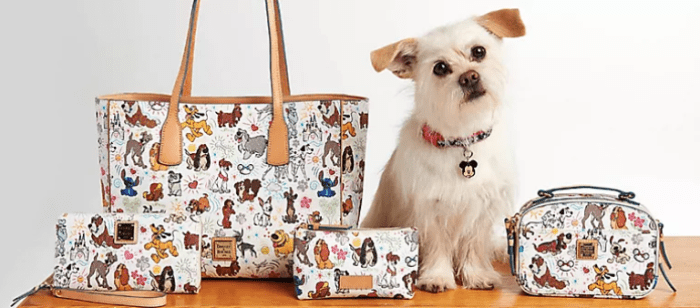 New Paws Itively Chic Disney Dog Dooney And Bourke Collection