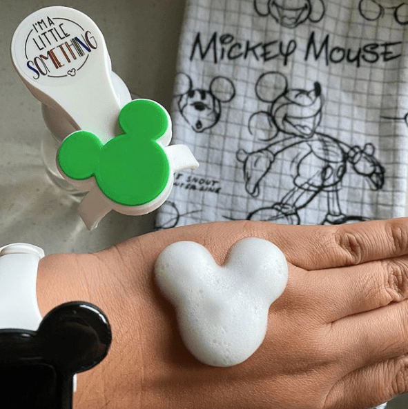 Mickey Shaped Soap Dispensers