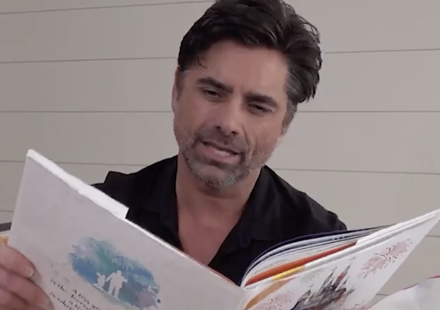 """John Stamos reads """"A Kiss Goodnight"""" from Disney Legends Richard Sherman and Floyd Norman"""