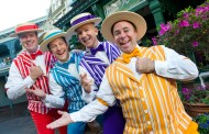 The Dapper Dans are bringing the magic of Main Street, U.S.A. to Disney fans at home