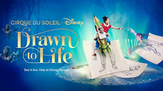 "Behind The Scenes Performance Of ""Drawn To Life"" By Cirque Du Soleil"