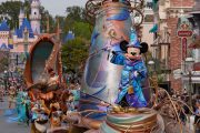 Virtual Viewing of Disneyland's 'Magic Happens' Parade