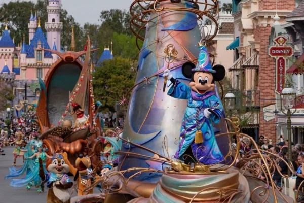 Virtual Viewing of Disneyland's 'Magic Happens' Parade 1