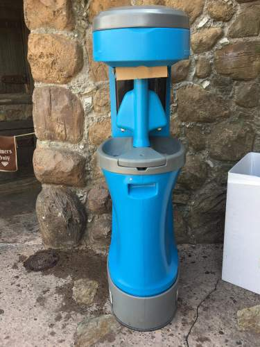 Hand Washing Stations are Popping Up all Over Walt Disney World Resort 3