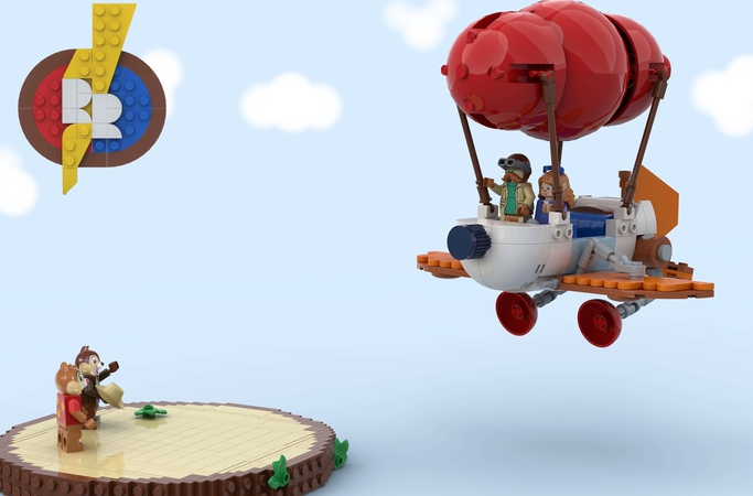LEGO Rescue Rangers Project Is The Set We Need To Save The Day 1