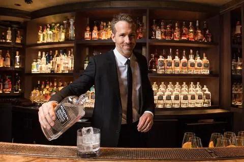 Ryan Reynolds Offering 30% of Aviation Gin Online Sales To Tip Bartenders