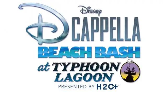DCappella takeover at Beach Bash at Typhoon Lagoon