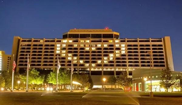 Walt Disney World Resorts Light Up with Love 1