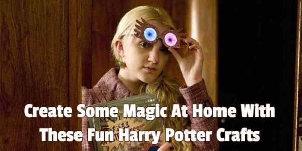 Create Some Magic At Home With These Fun Harry Potter Crafts 1