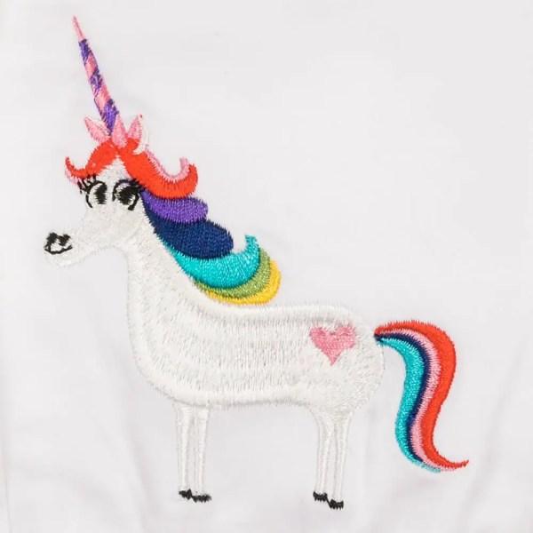 Rainbow Unicorn Romper
