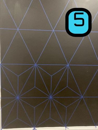 Make this Epcot Spaceship Earth Wall for your home 5