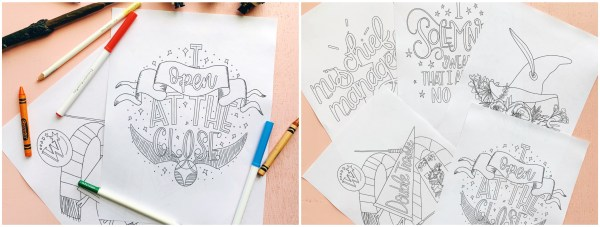 Manage Some Mischief With These Harry Potter Coloring Pages 1