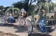 Cinderella brings the Disney Magic to local Orlando Neighborhood