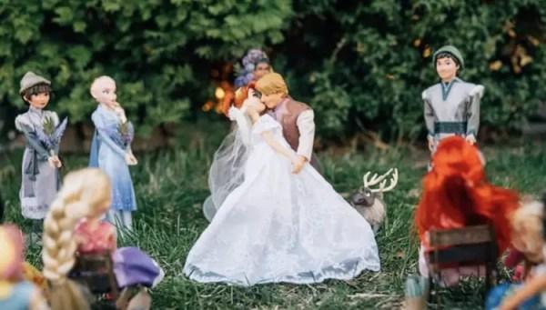 Disney Wedding Photos: Anna and Kristoff's Royal Wedding 6