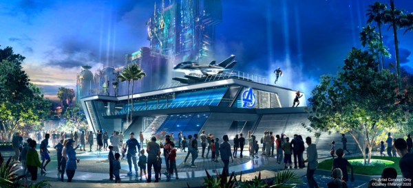 New Iron Man Suit To be Revealed Exclusively at Avengers Campus in Disneyland 1