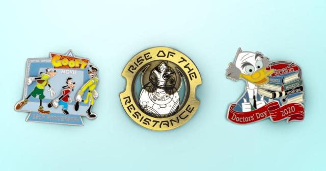 Limited Edition Disney Trading Pins Coming To shopDisney April 9 1
