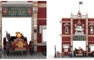 Amazing LEGO Ideas Walt Disney Firehouse LEGO Build