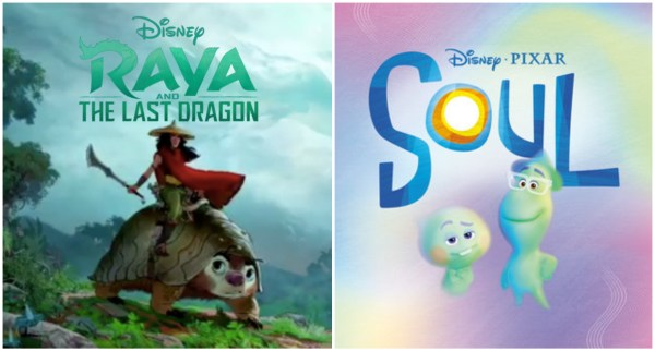Theatrical Releases Pushed Back for Disney's 'Raya and the Last Dragon' and Pixar's 'Soul' 1