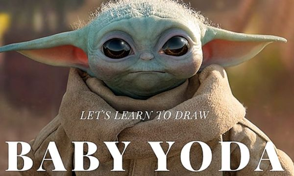 Learn How to Draw Baby Yoda! 1