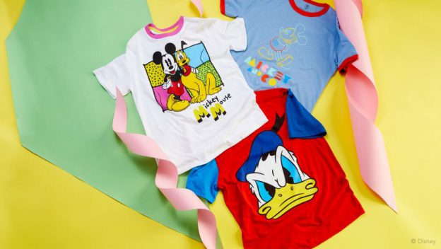 Exciting Re-introduced Mickey and Co Collection Made with Recycled Fiber