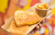 Try This At Home: Three-Cheese Grilled Cheese From Woody's Lunch Box