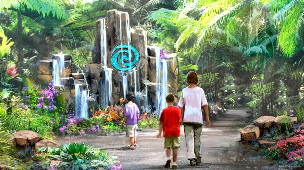 Is Epcot getting ready for 'Moana Journey of Water' Construction?