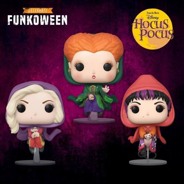 Hocus Pocus Sanderson Sisters Funko POP! Figures Are Wicked Adorable 1