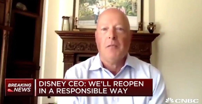 Bob Chapek talks to CNBC on Shanghai Disneyland Reopening the US Disney Theme Parks