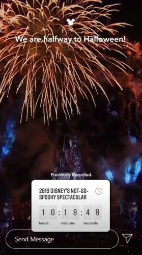 Disney's Not So Spooky Spectacular